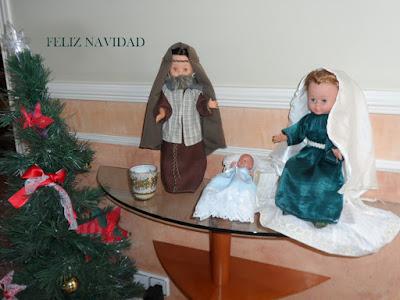 trajes belen navideño para muñecas
