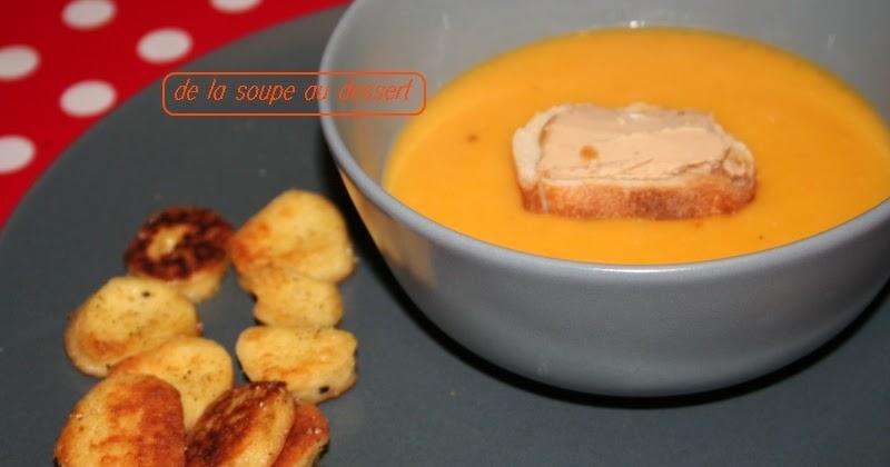 De la soupe au dessert velout de courge butternut au - Peut on congeler de la soupe ...
