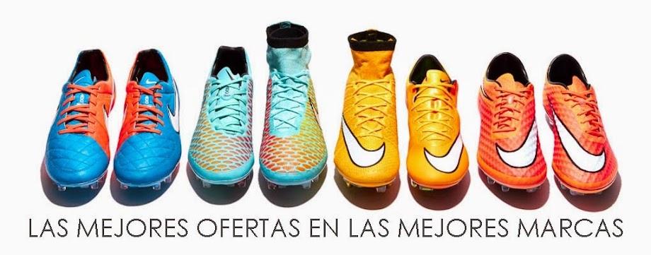 Encuentra zapatos de fútbol a buenos precios en Internet