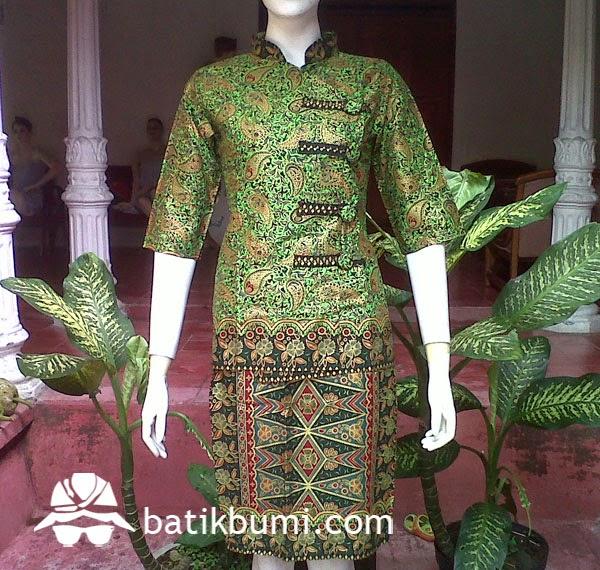 setelan rok n blouse batik