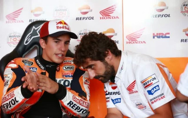Alasan Marc Marquez Hanya Finis Keempat di MotoGP Brno