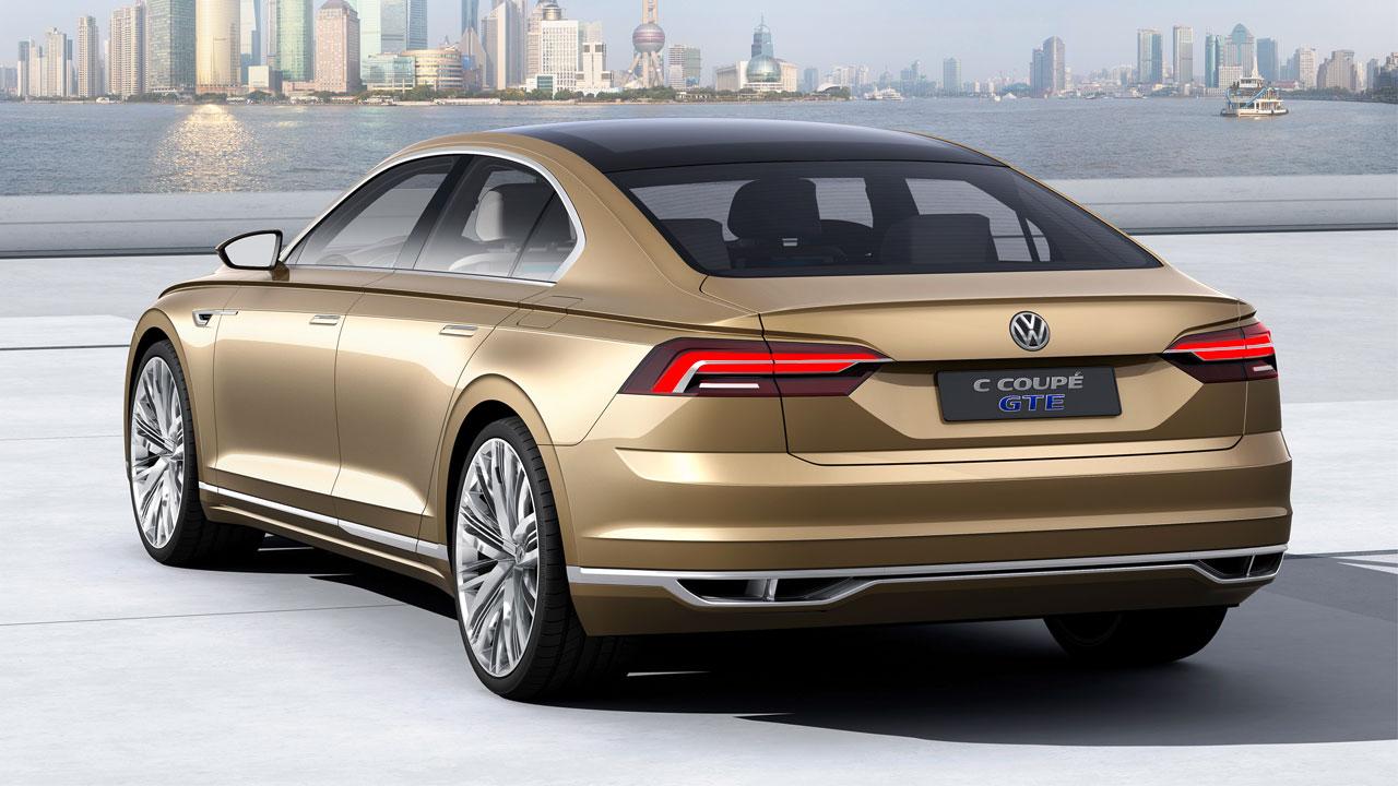 Volkswagen C Coupé GTE Concept car