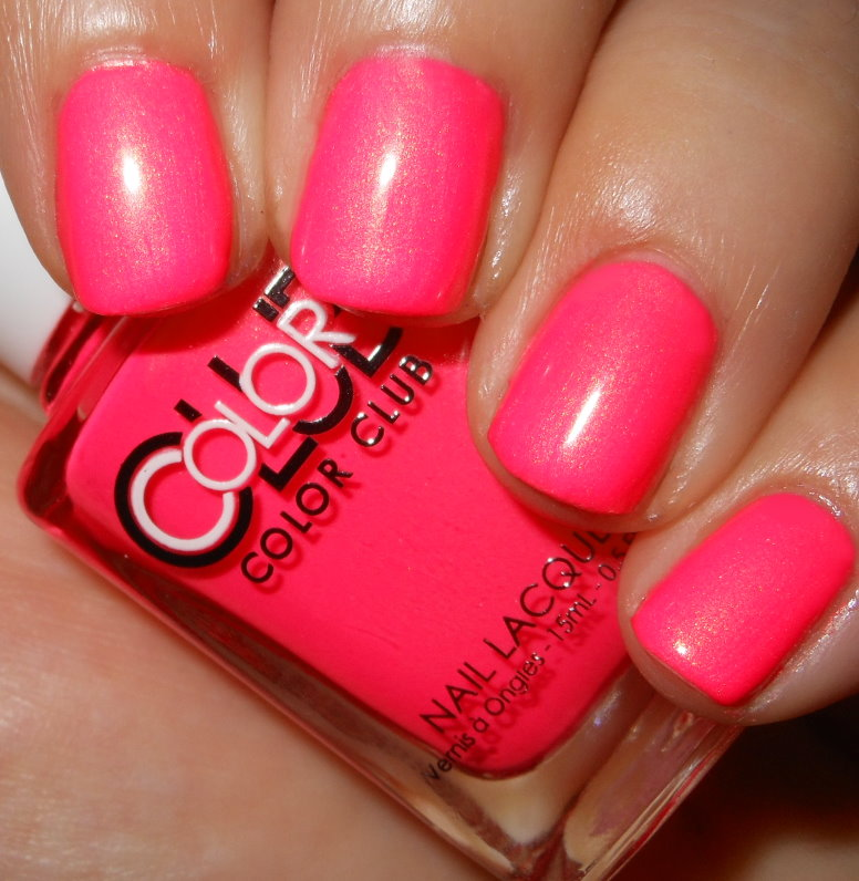 imperfectly painted  color club peace  love  and polish