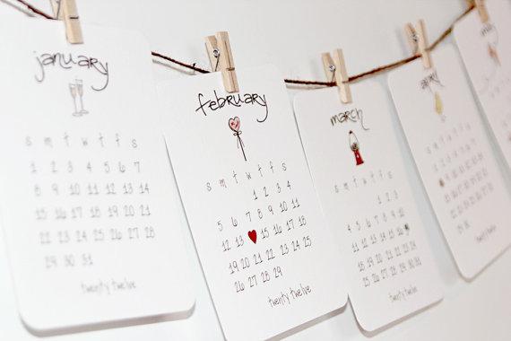Love Calendar Diy : Fresh and fancy diy calendar love