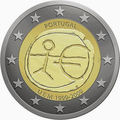 2 euro Portugal 2009, Ten years of Economic and Monetary Union and the birth of the euro