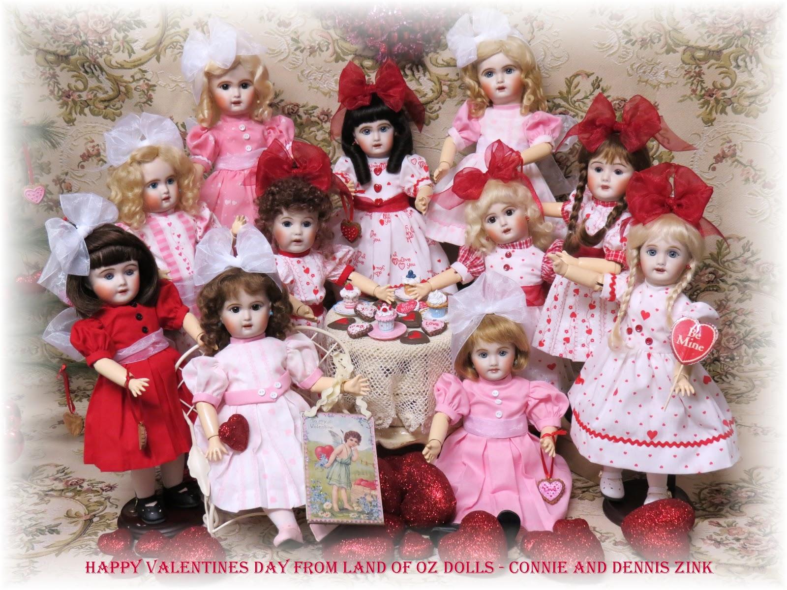 Land of Oz Dolls: Happy Valentine's Day 2013