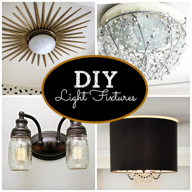 Home Made Modern: DIY Light Fixtures