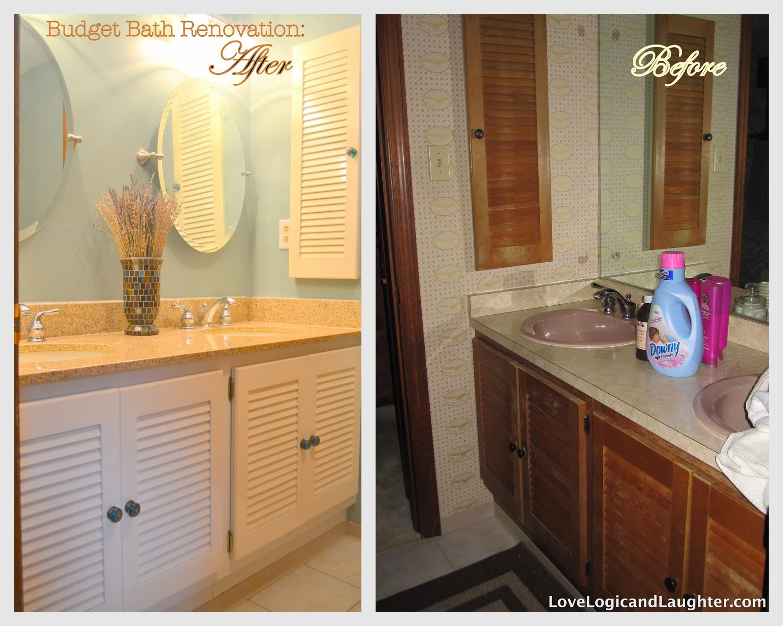Bathroom renovations before and after