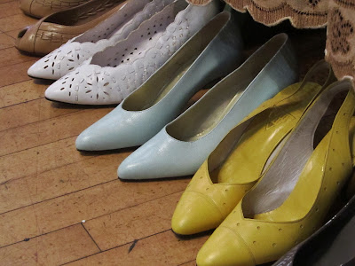 Vintage Fair Ladies' Pastel Shoes