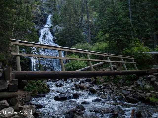 Pine Creek Falls, Montana