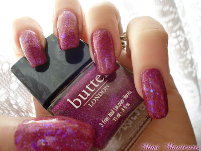 butter london fiddlesticks coc allure like totally pink.  pink gitter