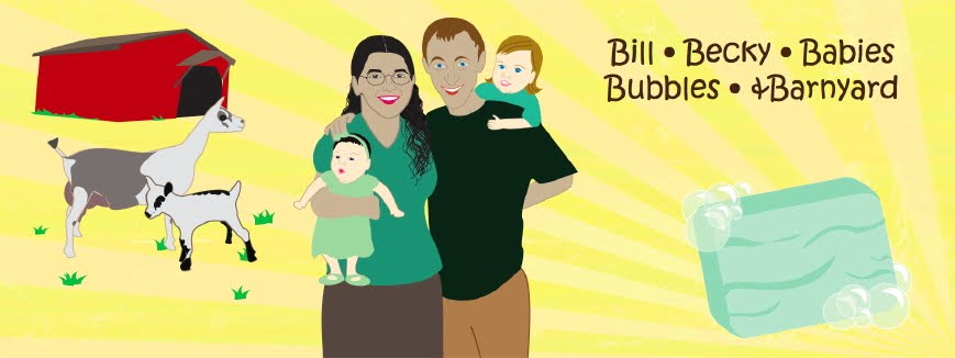 Bill, Becky, Babies, Bubbles, and Barnyard