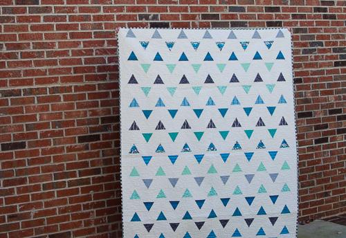 Hyacinth Quilt Designs: Minimalist Triangle Quilt : 60 degree triangle quilt - Adamdwight.com