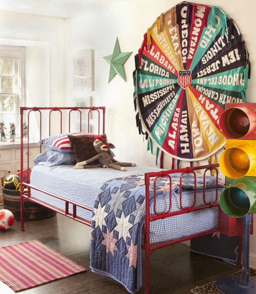 Decorar un dormitorio estilo americano dormitorios con - Habitaciones juveniles con estilo ...