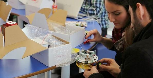 Sancaktepe Bilim ve Deney Merkezi Robot Bilim Eğitimlerine Başladı