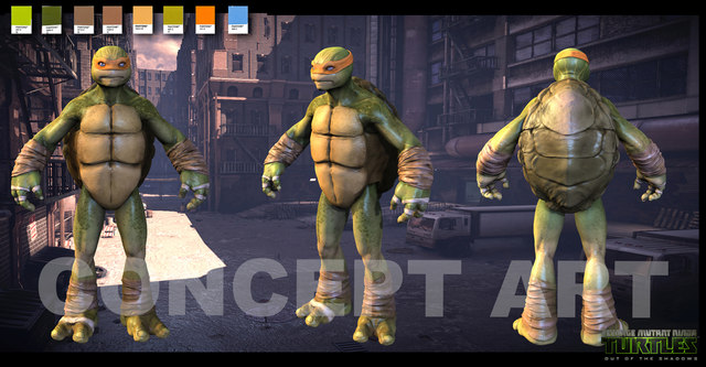 Teenage Mutant Ninja Turtles 2014 Concept Art Images amp Pictures