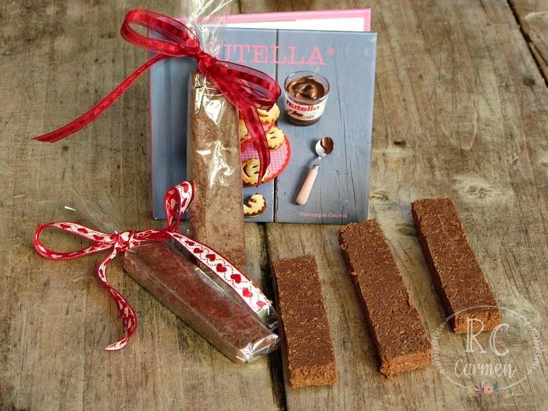 Barritas Crujientes De Nutella