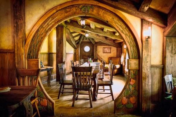 Historias de princesas una casa hobbit ficci n o realidad - La casa de los hobbits ...