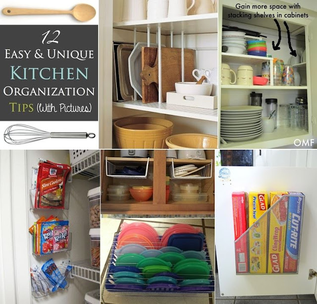 12 Easy Kitchen Organization Tips Diy Craft Projects
