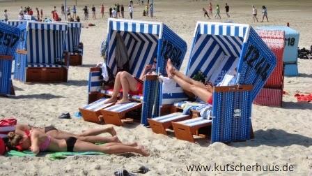 Der Langeooger Strand ist in einem Bade-, Sport-, Hunde-, Drachen- und Burgenstrand aufgeteilt.