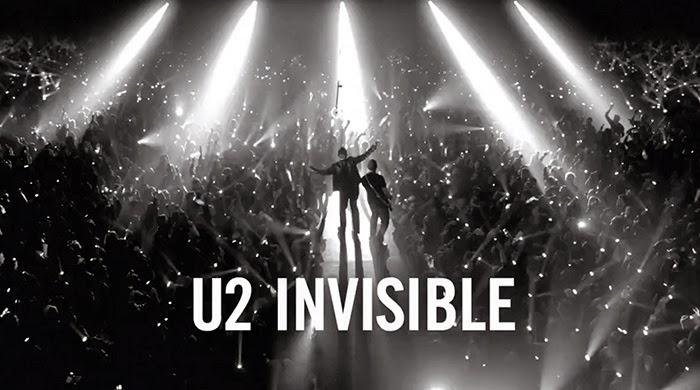 El nuevo videoclip de U2 Invisible