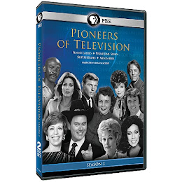 PIONEERS OF TELEVISION SEASON 3 ON DVD! FEATURING JOAN.. MARCH 12TH