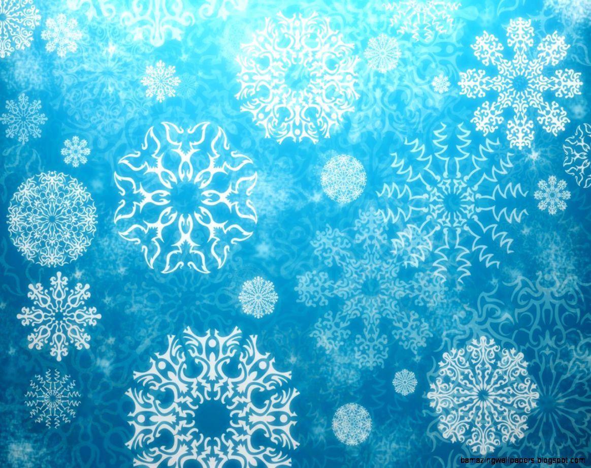 snowflake artwork blue colors aiJ