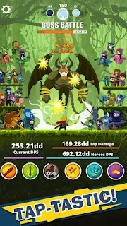 Tap Titans 3.0.7 Mod Apk (Unlimited money)