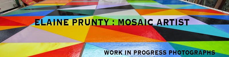 ELAINE PRUNTY :  MOSAIC  ARTIST
