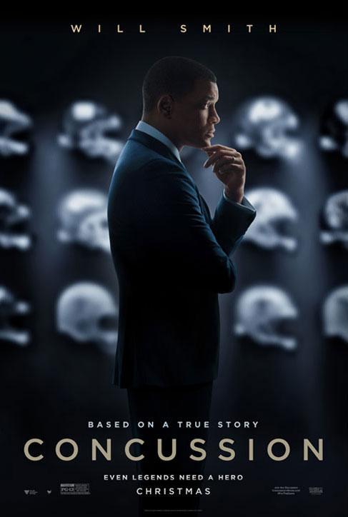 映画 Concussion ポスター