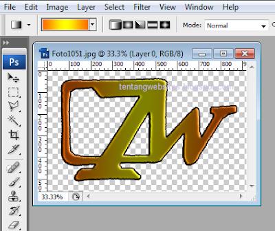 cara membuat loggo web