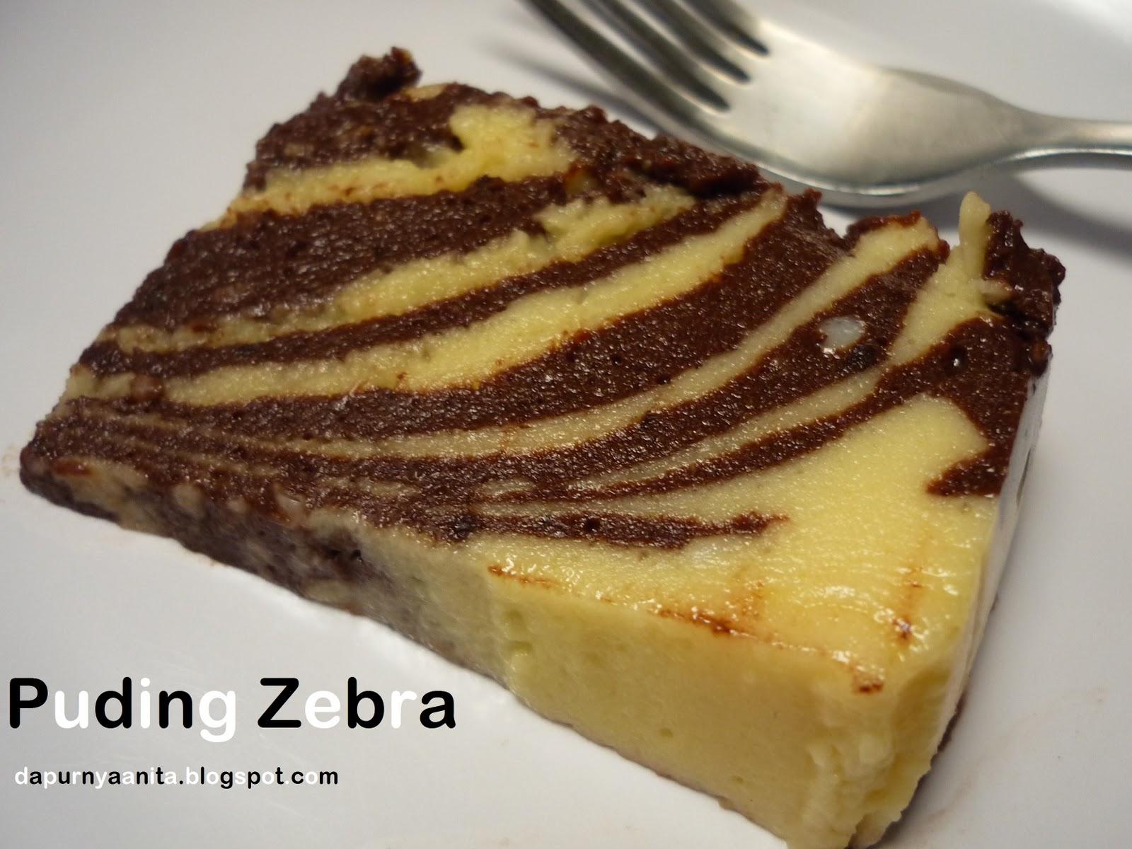 membuat roti zebra cara membuat puding zebra resep puding