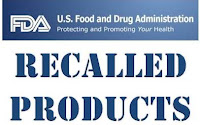 Recalled Products from the FDA