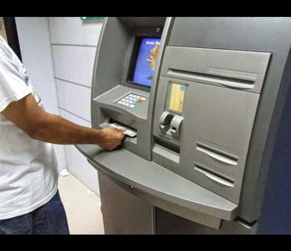 how to withdraw money from atm machine without card