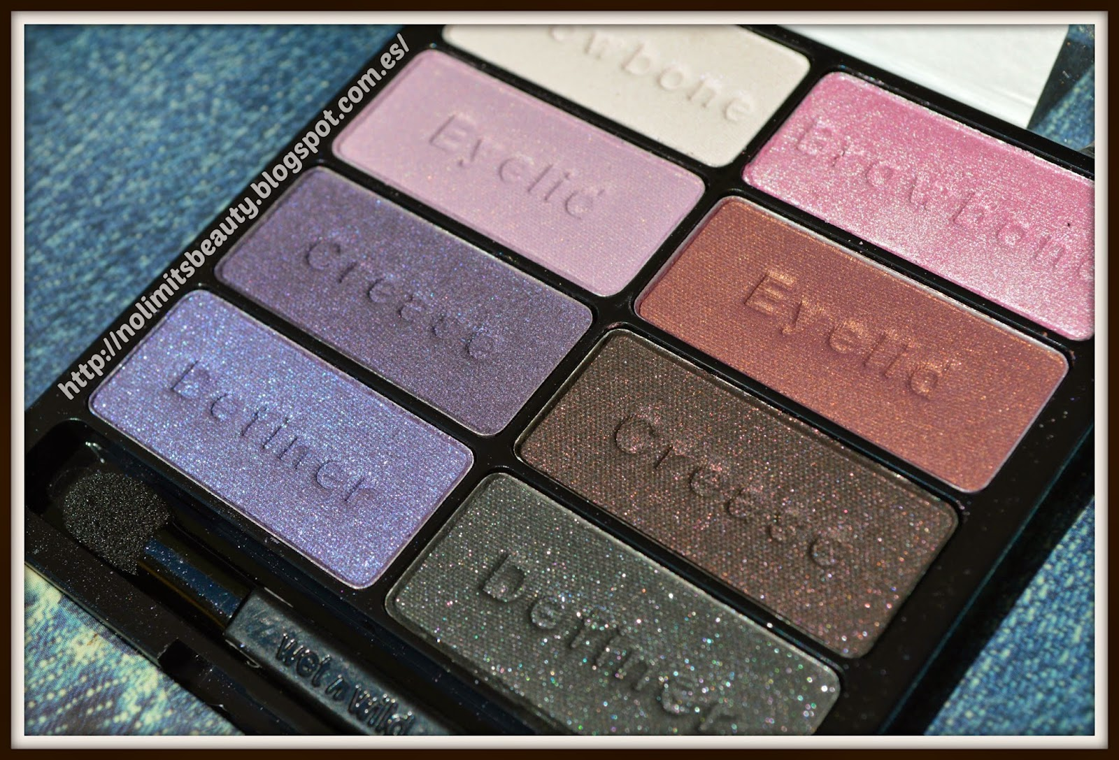 Wet and Wild: Color Icon Eyeshadow Palette en 736 Petal Pusher