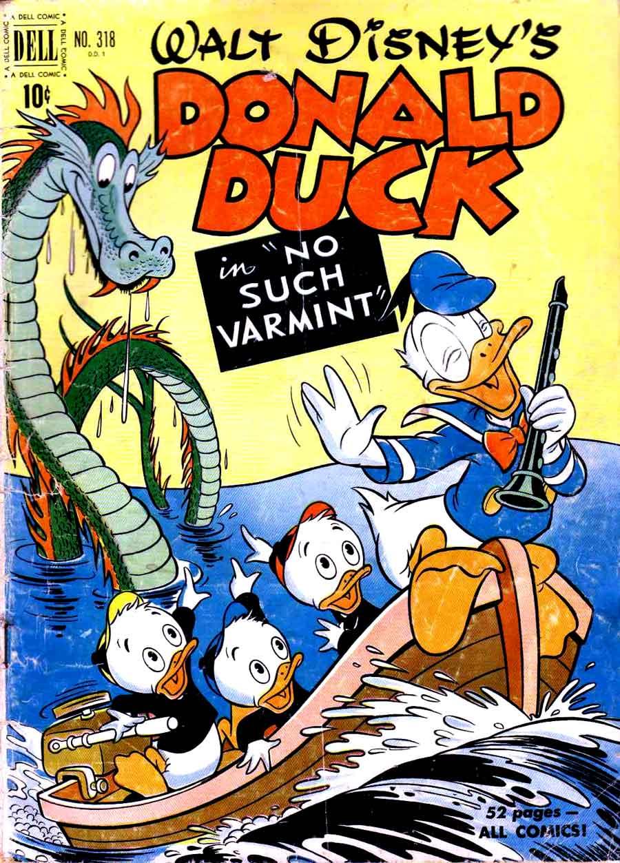 comix artist donald duck