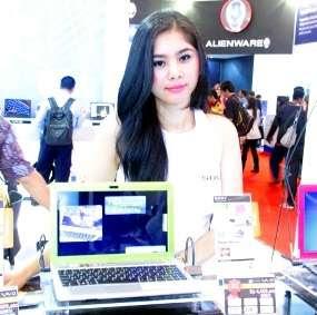 Cantik on Foto Spg Cantik Di Mega Bazaar Computer 2012   Berita Unik   Berita