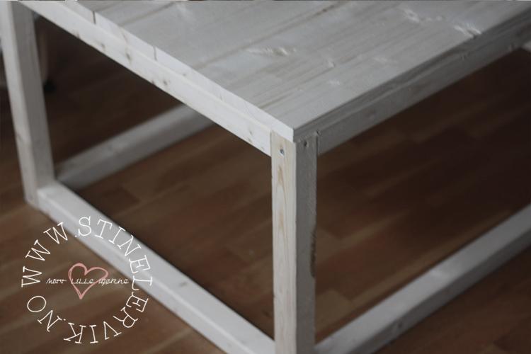 Stine Lervik - mitt lille hjørne♥: DIY sofabord