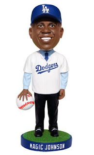 LA  Dodgers Magic Johnson Bobblehead