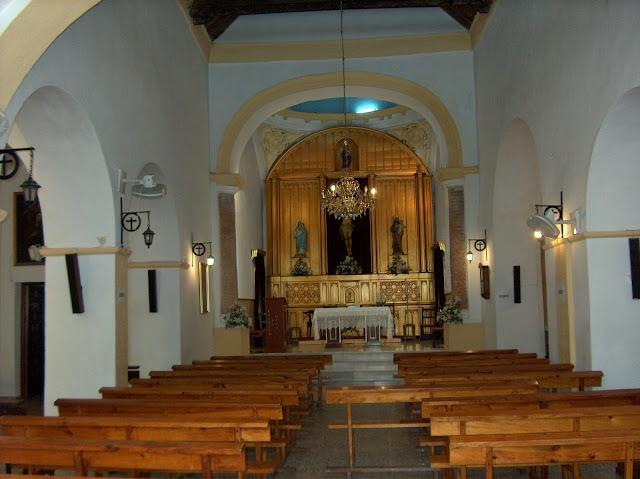 El terremo sorprendíó a muchos paterneros en el interior de la Iglesia Ntra. Sra. de la Inhiesta