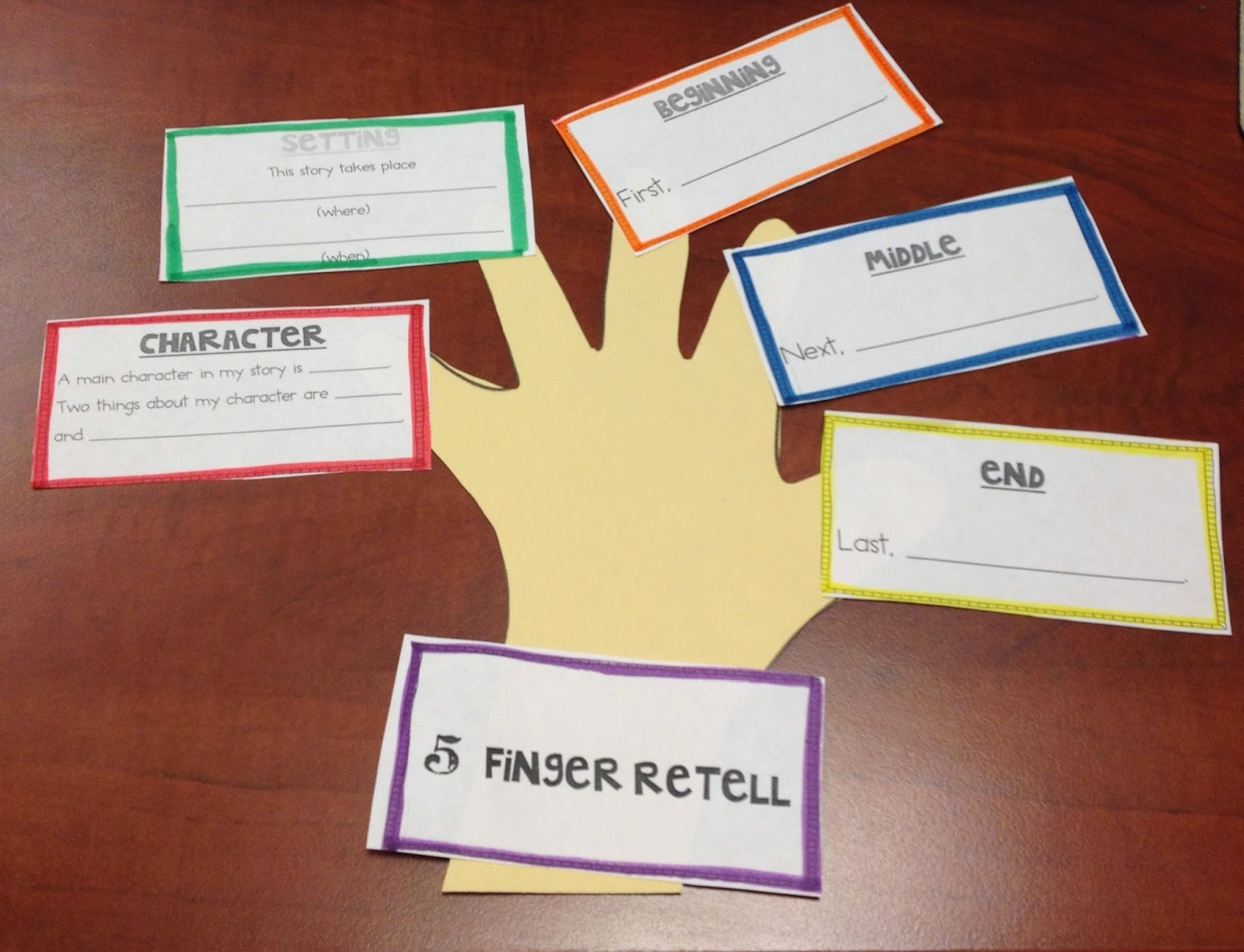 First grade mon stars i know all about adjectives give me five