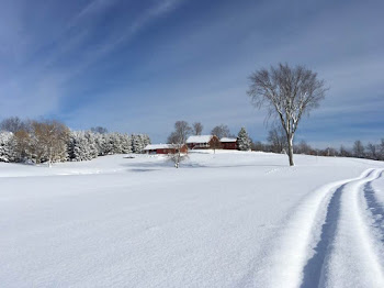 North Country Winter....Photo from the Norfolks of Honeyville