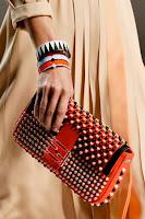 Чанта Клъч с мъниста на Fendi