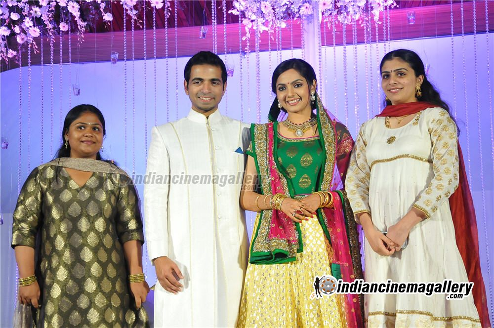 Pictures Of Samvritha Sunil Marriage Wedding Reception Photos Www
