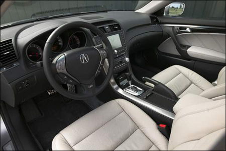 The TL Interior Puts All Important Systems And Controls Within Easy Reach  Of The Driver. The Systems Used Most Frequently Audio, Cruise Control, Acura  ...