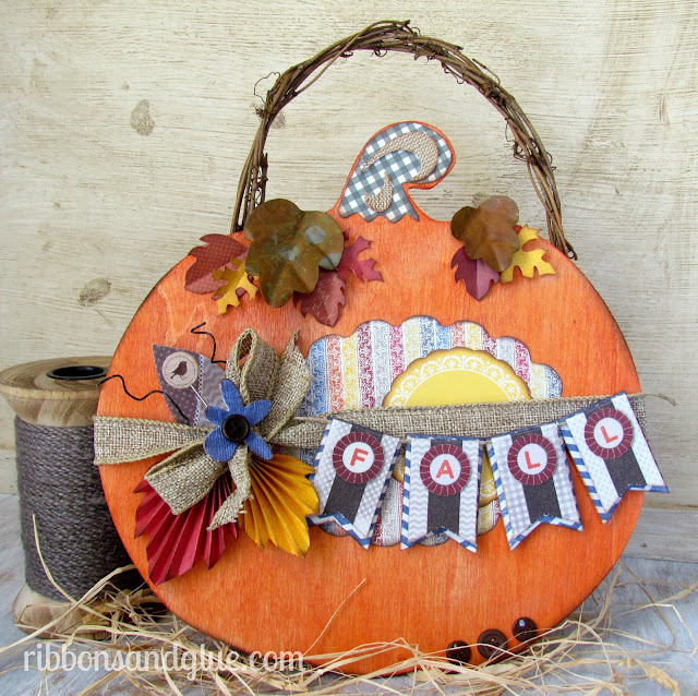 make pumpkin decor