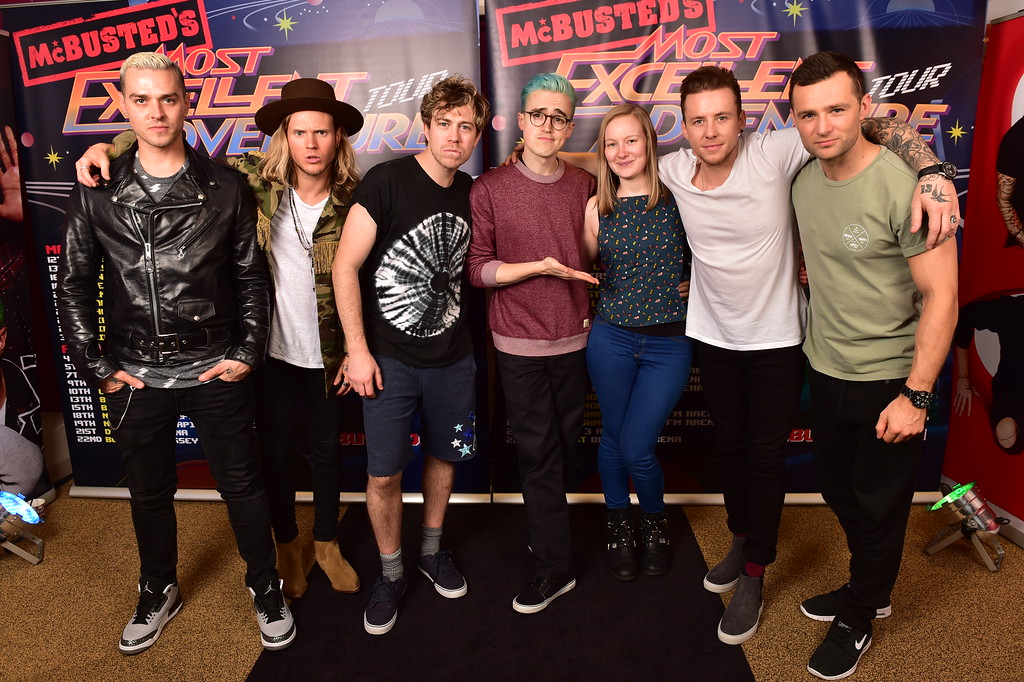 The time i met my all time favourite band gingerbread smiles mcbusted meet and greet newcastle mcfly and mcbusted m4hsunfo