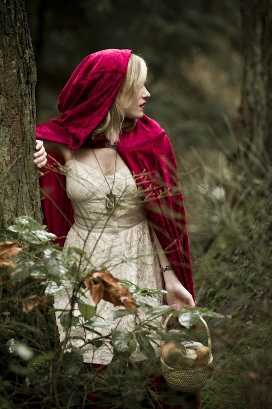 Little Red Riding Hood cloak