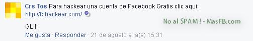 FB Hackear SPAM - MasFB