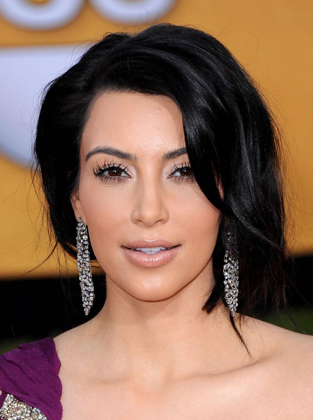 Kim Kardashian Haircut 01